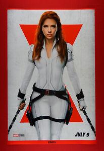Black Widow Marvel White Scarlett Johansson Movie 2021 Poster 24X36 New   WID2