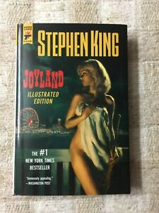Joyland by Stephen King  1st Illustrated Hardcover Edition  Hard Case Crime