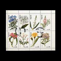 Nagaland, India Local, Canceled, 1972, S/S, Flora, Flowers, Plants, A5FXX-C