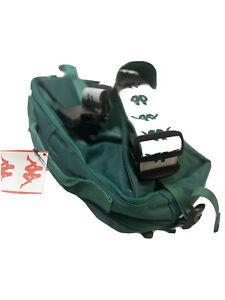 New Kappa 222 BANDA ALDAZ Crossbody Sling Bag Green White Fanny Men's Belt Bag