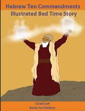Hebrew Ten Commandments Books for Children Illustrated Bed Time  by Yashra'al Me
