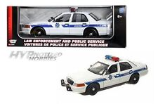 MOTORMAX 1:18  2001 FORD CROWN VICTORIA (ARIZONA HWP & PS) DIE-CAST WHITE  73529