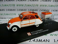 Auto Plus Méhari du Désert Citroën 2CV 1:43 Voiture Miniature - Verte
