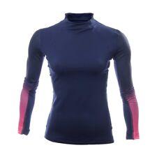 NWT-Nike Women's Pro Hyperwarm Running Fade Printed Long Sleeve Top  Sz LG