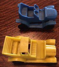 Plasticraft 2 Original, Vintage Plastic Cars In Excellent Condition- Marked!
