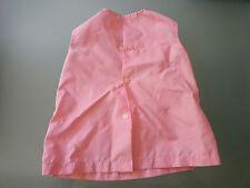 Chemise rose protection vêtements enfant bricolage peinture motif Schtroumpf