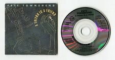 PETE TOWNSHEND 3-INCH-CD-MAXI a friend is a friend 1989 UK 4-tr The Who synth-Po