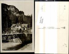 300594,Foto Ak Kaiserbrunn Brücke Reichenau a. d. Rax