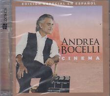 CD - Andrea Bocelli NEW Cinema 1 CD & 1 DVD FAST SHIPPING !