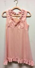 1960s Miss Novell Pink Babydoll Dress UK 10
