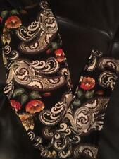 BUTTERY BUTTER SOFT VICTORIAN PAISLEY COLORFUL PLUS LEGGINGS ONE SIZE FITS MOST