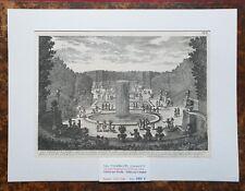 XVII ème - Dépt 78 Belle Gravure Les Trois Fontaines à Versailles PL 97 - 1680