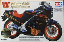 Tamiya 14053 Suzuki RG250 Walter Wolf Special Motorcycle plastic model kit 1/12