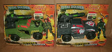 """2 Total Soldier Coyote Charger Vehicles + 3.75"""" Action Figures Lanard The Corps"""