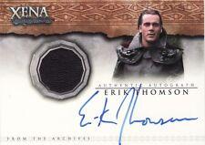 Xena Quotable Erik Thomson as Hades AC5 Auto Costume Card