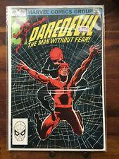 "Daredevil #188 ""Widow's Bite!"" Miller Art!! Marvel"