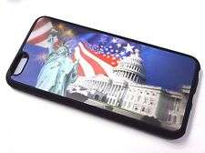 for iPhone 6 PLUS 3D Hologram UNITED STATES CAPITOL BUILDING LIBERTY TPU CASE