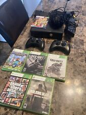 Microsoft Xbox 360 Slim Bundle With Connect,Games, And Headset. 250Gb.