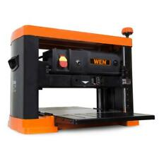 "Wen 3-Blade Benchtop Corded Thickness Planer 13"" Woodworking Cutting Tool 15A"