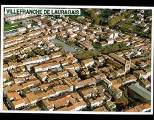 VILLEFRANCHE DE LAURAGAIS (31) VILLAS & EGLISE en vue aérienne