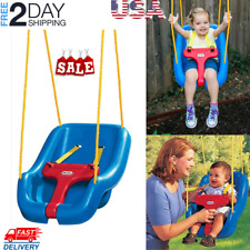 Outdoor Baby Swing Seat Toddler Swing Snug & Secure Detachable Baby safety