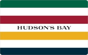 Hudson's Bay Gift Card - $100 Mail Delivery
