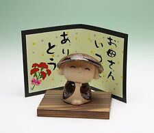 Buddhist Boy Monk Unsui Terracotta Figurine Japanese Mothers Day Message New