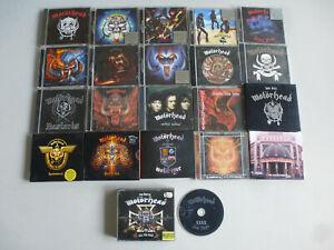 "CD-PAKET ""27 x MOTÖRHEAD"" Konvolut Bundle Lemmy Rock 'n' Roll limited Edition"
