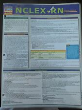 Barcharts NCLEX-RN Quick Study Guide