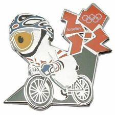 London 2012 Olympics Mascot Road Cycling Pin