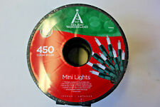 450 Count Clear Mini Christmas / Wedding Lights on Green Wire #178991 on Reel
