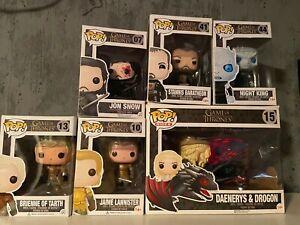 Game of Thrones Funko Pop Bundle - 6 Figuren