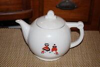 Vintage Drip-O-Lator Coffeepot Teapot Windmill Dutch People Enterprise Aluminum