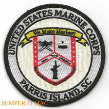 MCRD PARRIS ISLAND HAT PATCH US MARINES BOOT CAMP MOM DAD GRADUATION QUILT GIFT