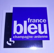 Autocollant France Bleu Champagne Ardenne
