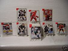 1997/98 Pinnacle hockey(BAP) Autographs near Complete Set