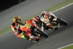 Valentino Rossi and Marco Superbike Photo Poster Print Wall Art  size A4 A2 A1