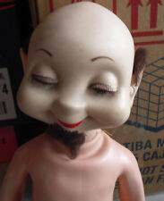 """Vintage 1960 American Character Wimsie Zack the Sack Boy Doll 22"""" LOOK"""