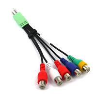 Audio Video AV Adapter Cable FOR SAMSUNG LED TV`S BN39-01154W BN3901154W