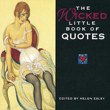 The Wicked Little Book of Quotes (Mini Squares),,New Book mon0000101207