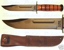 Ka-Bar KaBar Knives Full-Size USMC KA-BAR Straight Edge 1217