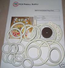 1960 Gottlieb Spot-A-Card Pinball Machine Rubber Ring Kit