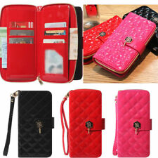Maxi Zipper Wallet Case for Samsung Galaxy Note10 Note10+ Plus Note9 Note8 Note5