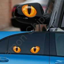 Cool Funny Devil Cat Eyes Car Sticker Decal Badge Skoda Fabia VRS Octavia Yeti
