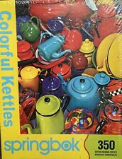 Springbok - Beautiful Kettles - Jigsaw Puzzle - 350 Pieces - New, Still Sealed