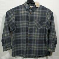 Field & Stream Men Classic Lightweight Long Sleeve 2XL Flannel Shirt Plaid NWT