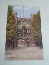 A R QUINTON Postcard 1563 GATEWAY TRINITY COLLEGE, CAMBRIDGE       §A2290