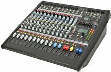 Analogue & Digital Powered Stage/Live Sound Pro Audio Mixers