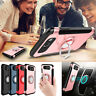For Samsung Galaxy J3 Luna Pro/Emerge/Mission TPU Magnetic Ring Stand Case Cover