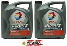 2x 5l Liter TOTAL Quartz Ineo Long Life III 5W-30 VW 504 00 / 507 00 Motoröl 10l